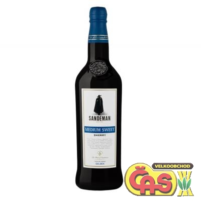 SANDEMAN SHERRY MEDIUM SWEET 0.75l 15%