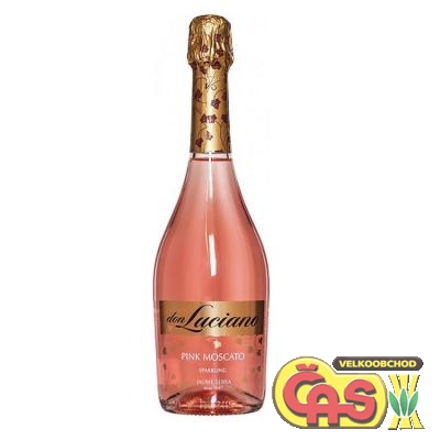 SEKT DON LUCIANO PINK MOSCATO 0,75l