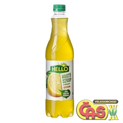 SIRUP PET!HUST� HELLO CITRON 0.7l