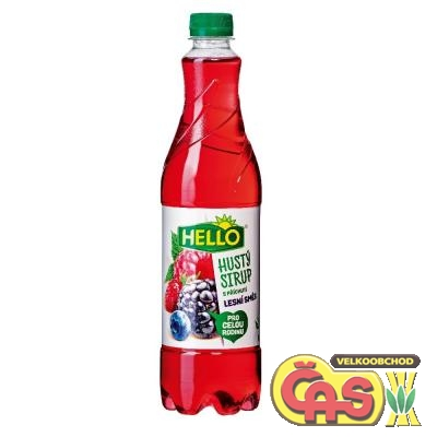 SIRUP PET!HUST� HELLO LESN� SM�S 0.7l
