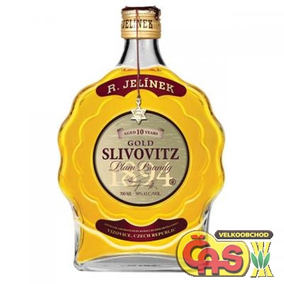SLIVOVICE KOSHER BUDÍK EXPORT.GOLD 0.7l
