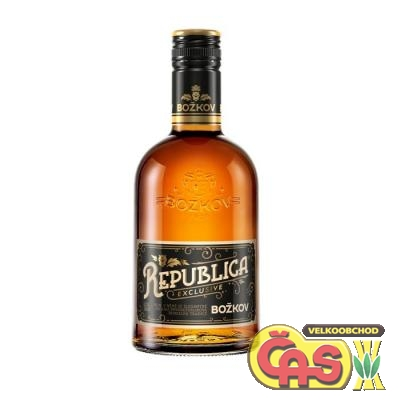 STOCK BOŽKOV REPUBLICA EXCLUSIVE 0.5l 38%