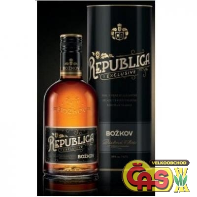 STOCK BO�KOV REPUBLICA EXCLUSIVE 0.7l tuba 38%