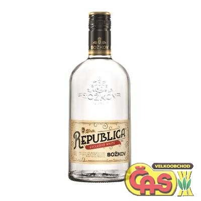 STOCK BOŽKOV REPUBLICA Exclusive White 0.7l 38%
