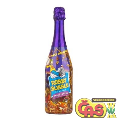 Šumivý nápoj - Robby Bubble Magic-Drink 0.75l dìtské špunty