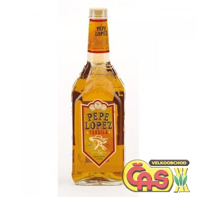 TEQUILA-PEPE LOPEZ GOLD 1l 40%