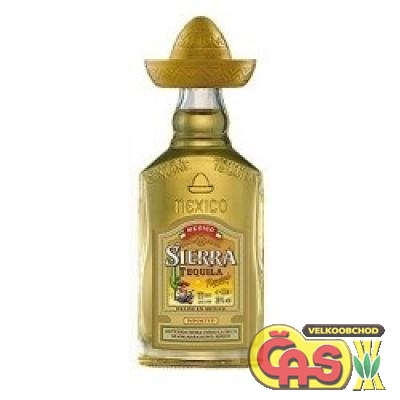 TEQUILA-SIERRA GOLD 0.04 mini   38%