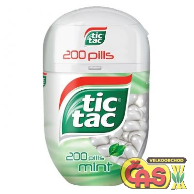 TIC TAC 200  MINT 98g /8 ks