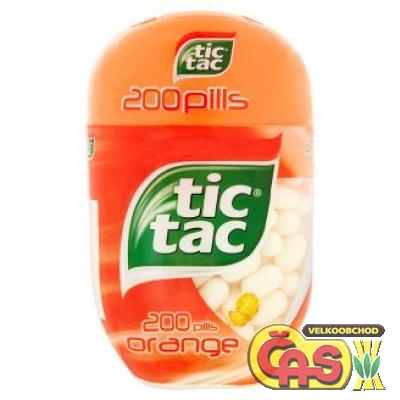 TIC TAC 200  ORANGE 98g /8 ks