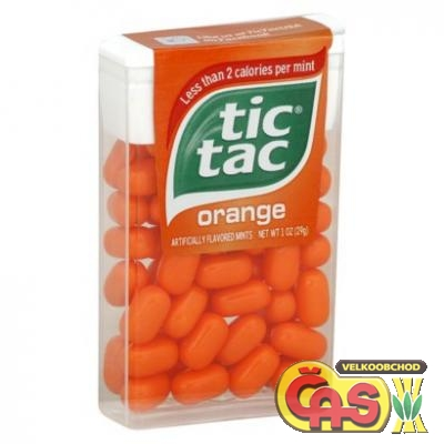 TIC TAC - ORANGE /24KS  18g