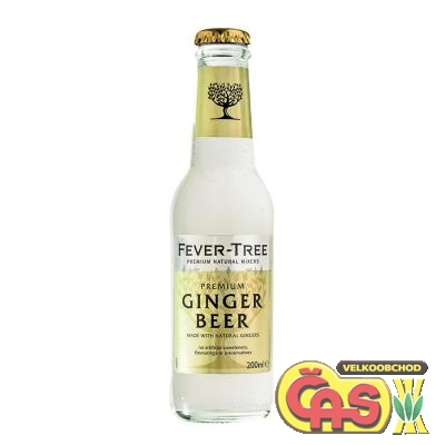 TONIC FEVER TONIC GINGER-BEER 4x0.2l