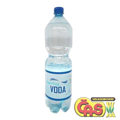 Veseta 1.5l  neperlivá PET