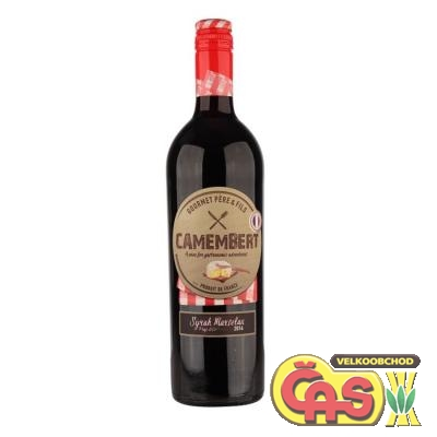 V�NO CAMEMBERT SYRAH MARSELAN 0.75l