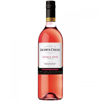 VÍNO JACOBS CREEK SHIRAZ ROSÉ 0.75l