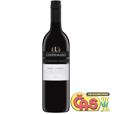 VÍNO LINDEMANS WINEMAKERS RELEASE SHIRAZ CABERNET 0.75l hous
