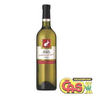 VÍNO  MULLER THURGAU 0.75l Collection Mondiale ZAJEÈÍ