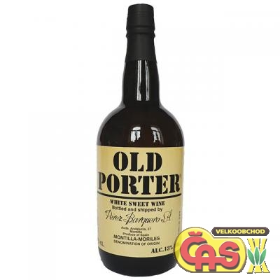 VÍNO OLD PORTER WHITE 0.75l