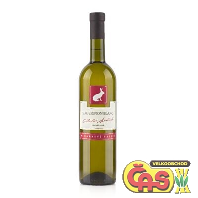 VÍNO  SAUVIGNON BLANC 0.75l Collection Mondiale ZAJEÈÍ