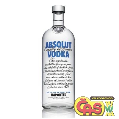 VODKA - ABSOLUT 1l         40%