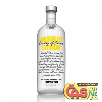 VODKA - ABSOLUT CITRON 1l 40%