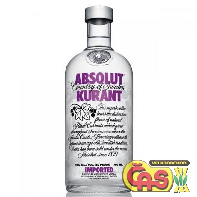 VODKA - ABSOLUT KURANT 0.7l 40%
