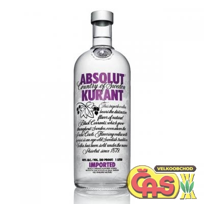VODKA - ABSOLUT KURANT 1l 40%