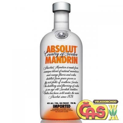 VODKA - ABSOLUT MANDRIN 0.7l 40%