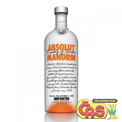 VODKA - ABSOLUT MANDRIN 1l 40%