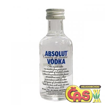 VODKA - ABSOLUT mini 0.05l      40%