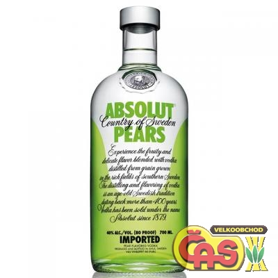 VODKA - ABSOLUT PEARS 0.7l 40%