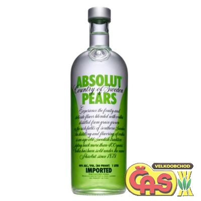 VODKA - ABSOLUT PEARS 1l 40%