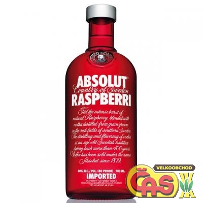 VODKA - ABSOLUT RASPBERRI 0.7l 40%