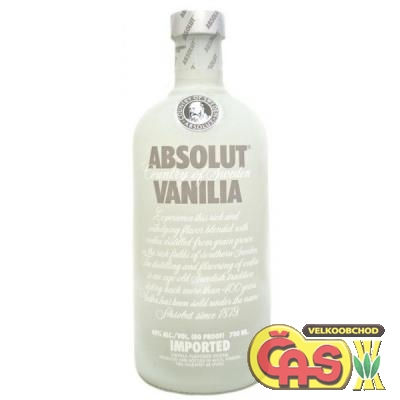 VODKA - ABSOLUT VANILIA 0.7l 40%