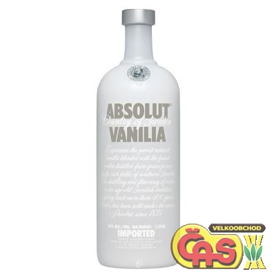 VODKA - ABSOLUT VANILIA 1l 40%