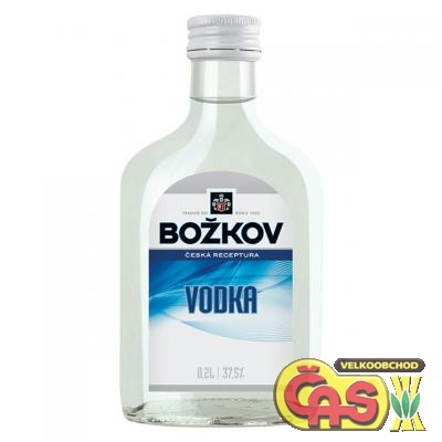 VODKA  Božkov 0.2l   37.5% !!!