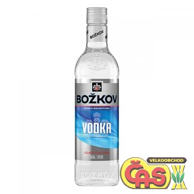 VODKA  Božkov 0.5l   37.5%