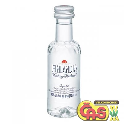 VODKA - FINLANDIA 0,05l mini 40%