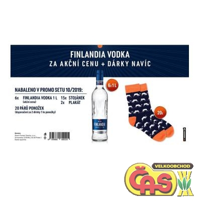 Vodka - Finlandia 6x1l promo set