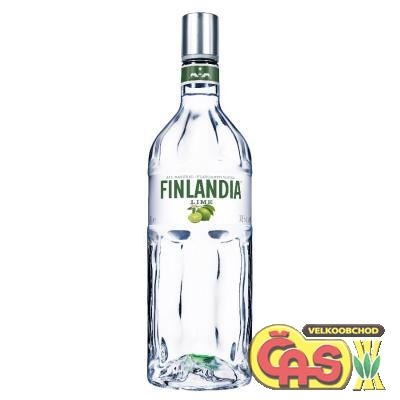 VODKA - FINLANDIA LIME MINT 1l  37.5%