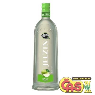 VODKA - JELZIN APPLE 0.7l 16.6%