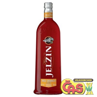VODKA - JELZIN RED ORANGE 0.7 18%