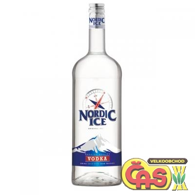 VODKA - NORDIC ICE 1l 37.5% DYNYBYL