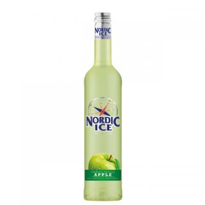 VODKA - NORDIC ICE APPLE 0.5l 14.5% DYNYBYL
