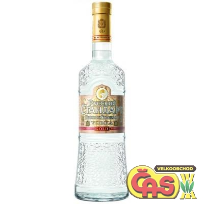 VODKA - RUSSKIJ STANDARD GOLD 1l 40%
