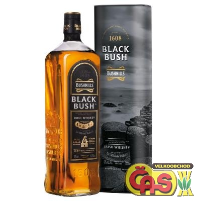 WHISKY - BUSHMILLS BLACK BUSH tuba 0.7l