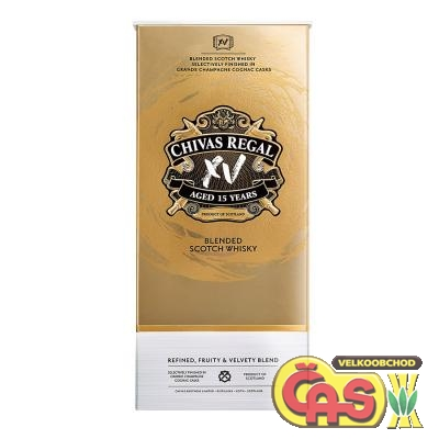 Whisky - Chivas Regal 15y 0.7l kartonek