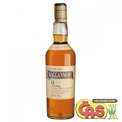 WHISKY - CRAGGANMORE 0.75l 40%