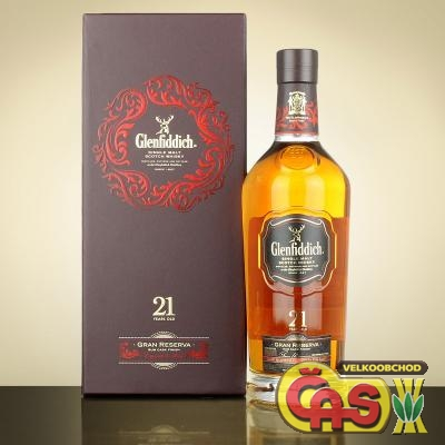 WHISKY - GLENFIDDICH. 0.7 21let 40%