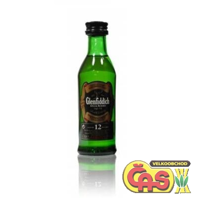 WHISKY - GLENFIDDICH 0.05l MINI 43%
