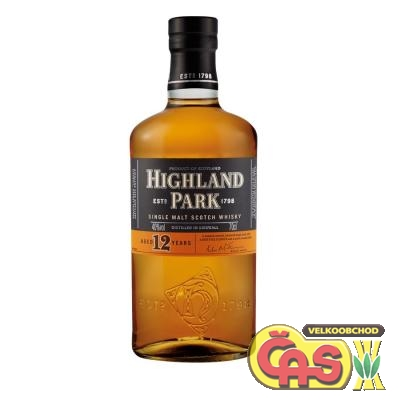 WHISKY - HIGHLAND PARK 12YO 0.7l 40%